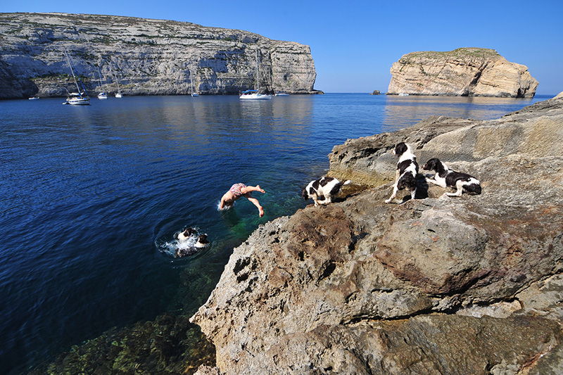 There is so much to discover, Gozo offers a little surprise behind every corner which makes it worth the extra mile © Ted Attard