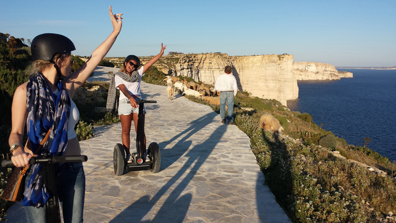 Find your own way to discover the Maltese Islands © Kevin Grech